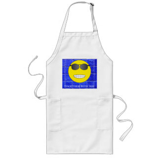 Together with you long apron