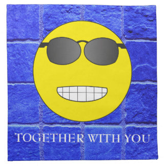 Together with you napkin