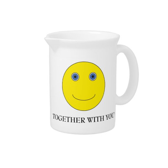 Together with you pitcher