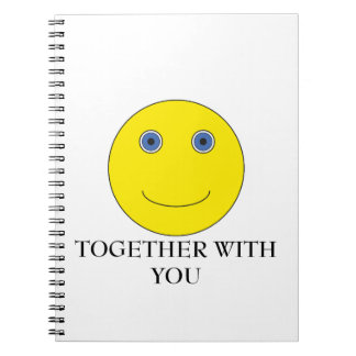 Together with you spiral notebook