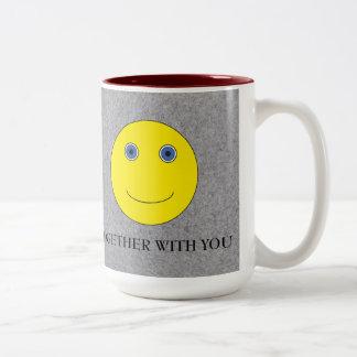 Together with you Two-Tone coffee mug