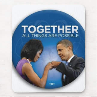 together - yes we did! mouse pad