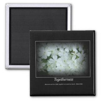 togetherness floral motivational magnet