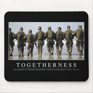 Togetherness: Inspirational Quote Mouse Pad