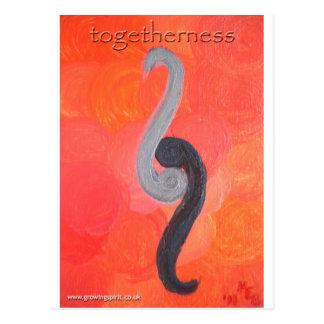 Togetherness Postcard