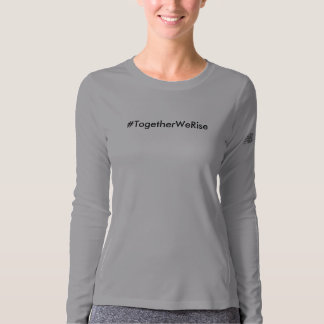 #TogetherWeRise Women's Gray Long Sleeve T-Shirt