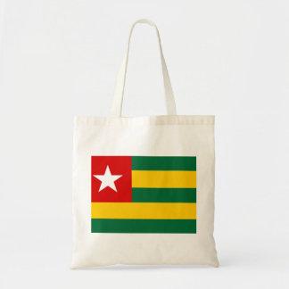 togo country flag nation symbol tote bag