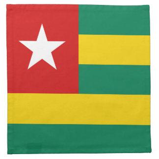 Togo Flag Napkin