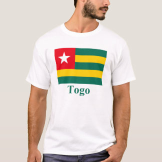 Togo Flag with Name T-Shirt