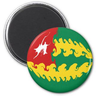 Togo Gnarly Flag Refrigerator Magnet