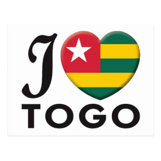Togo Love Postcards