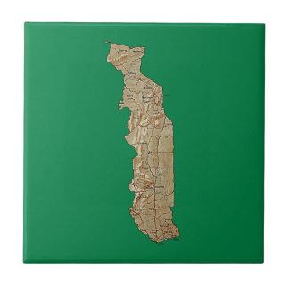 Togo Map Tile