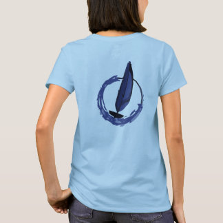 Tohidu Women's Sailboat Racing Tee