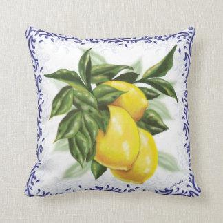 Toile Lemons Cushion