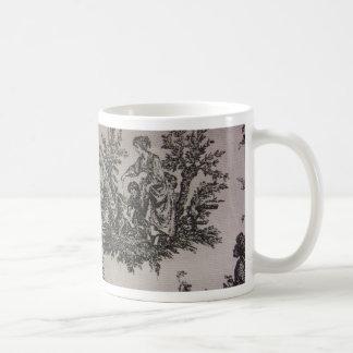Toile River Scene Coffee Mug