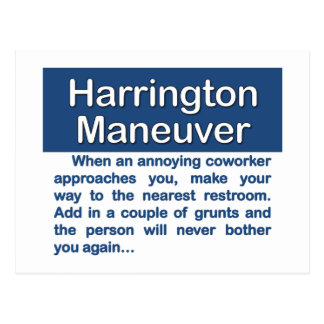 Toilet Maneuver Post Cards