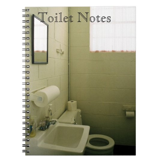 Toilet Notes 1 Notebooks