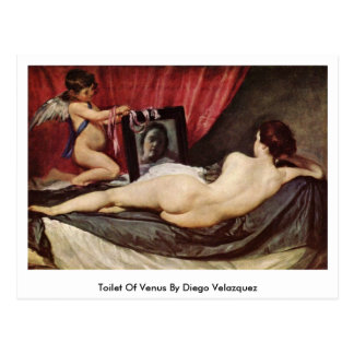 Toilet Of Venus By Diego Velazquez Postcard