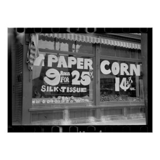 Toilet Paper & Corn Posters