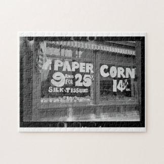 Toilet Paper & Corn Puzzle