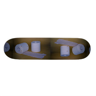 Toilet paper Photo Custom Skateboard