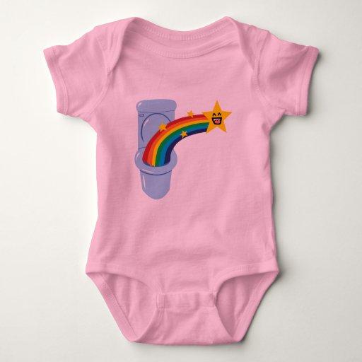 Toilet Rainbow Infant T-Shirt