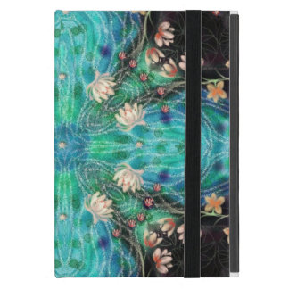 toilets and lotus by Sandrine Kespi Cover For iPad Mini