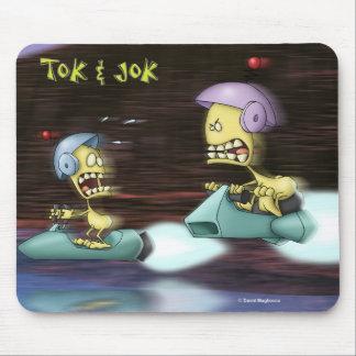 Tok & Jok The Race Mousepad