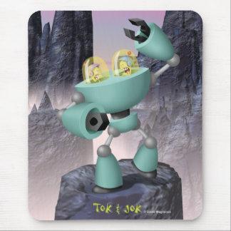 Tok & Jok TokBot vs JokBot Mousepad