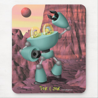 Tok & Jok TokBot vs. JokBot Mousepad