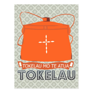 Tokelau Coat of Arms Postcard