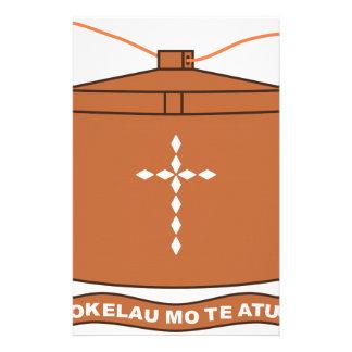 Tokelau National Symbol Customized Stationery