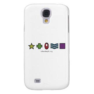 Token Skeptic Zener Logo Samsung Galaxy S4 Cases