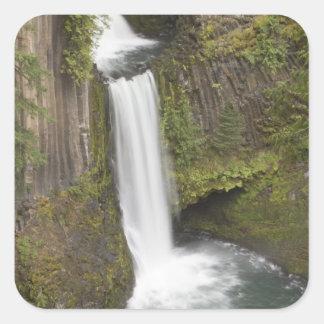 Toketee Falls in Douglas county, Oregon Square Sticker