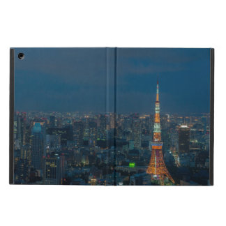 Tokio Landscape by Night. iPad Case. iPad Air Cover