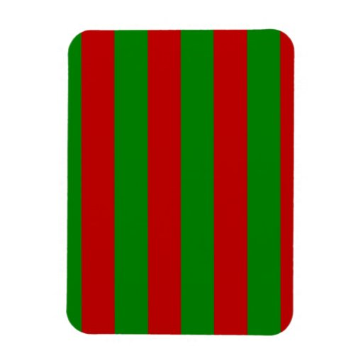 Toksie Red and Green Wallpaper Rectangular Magnet