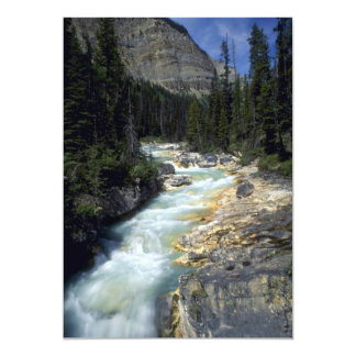 "Tokumn Creek, Marble Canyon, British Columbia, Can 5"" X 7"" Invitation Card"
