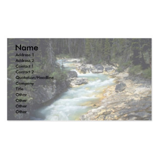 Tokumn Creek, Marble Canyon, British Columbia, Can Pack Of Standard Business Cards