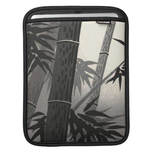 Tokuriki Bamboo and Sun japanese fine art Sleeves For iPads