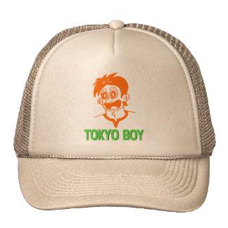 Tokyo Boy (Orange&Green Line) Hat