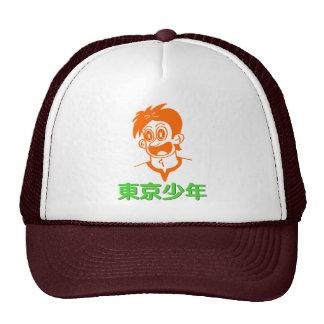 Tokyo Boy (Orange&Green Line) Kanji Hat
