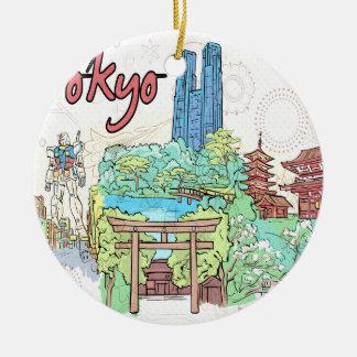 Tokyo Christmas Ornament
