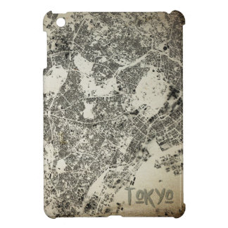 Tokyo City Streets and Buildings Vintage Design Case For The iPad Mini