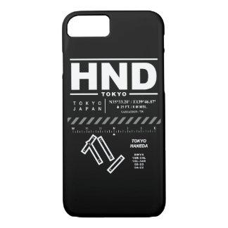 Tokyo Haneda International Airport HND iPhone Case