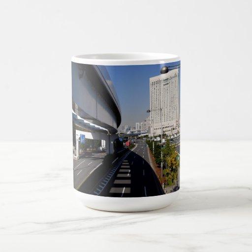 Tokyo Highway Basic White Mug