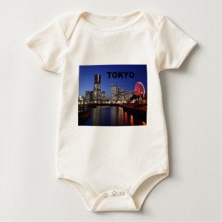Tokyo Japan by Night (St.K) Baby Bodysuit