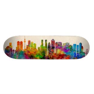Tokyo Japan Skyline Cityscape Skate Deck