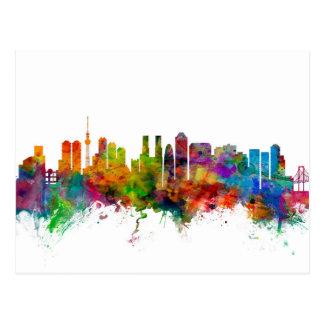 Tokyo Japan Skyline Postcard