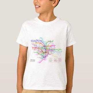 Tokyo Japan Subway Map T-Shirt