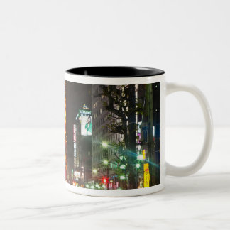 Tokyo, Japan. Tokyo Tower is a communications Two-Tone Coffee Mug